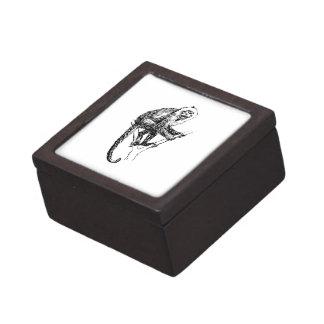Capuchin Monkey Premium Jewelry Box