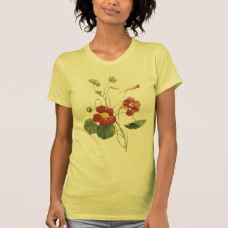 capuchina (majus del Tropaeolum) por Redouté T-shirt