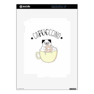 ¡CaPUGccino lindo estupendo! ¿Barros amasados y iPad 2 Skin