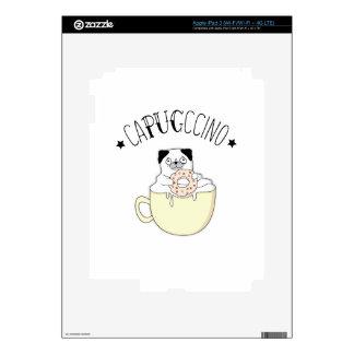 ¡CaPUGccino lindo estupendo! ¿Barros amasados y iPad 3 Skin