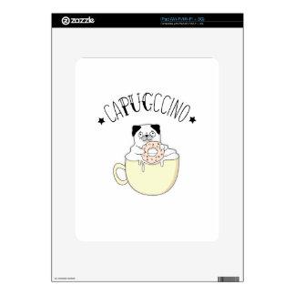 ¡CaPUGccino lindo estupendo! ¿Barros amasados y Skins Para iPad