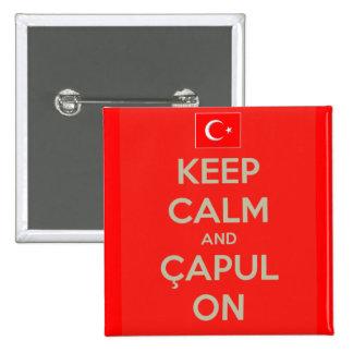 Capulcu Button - Keep Calm and Capul On