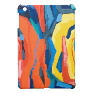 Capullos de rosa abstractos (expresionismo abstrac iPad mini carcasas