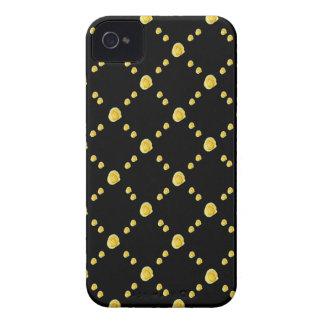 Capullos de rosa amarillos iPhone 4 protectores