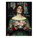 Capullos de rosa de John William Waterhouse Postal