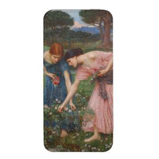 Capullos de rosa de YE del frunce de John William Bolsillo Para iPhone