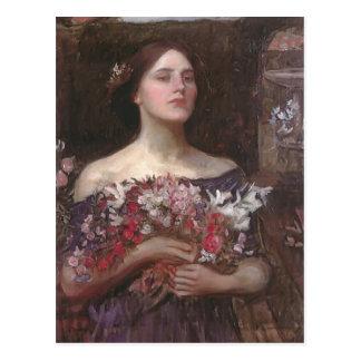 Capullos de rosa u Ofelia de YE del frunce del wat Tarjetas Postales