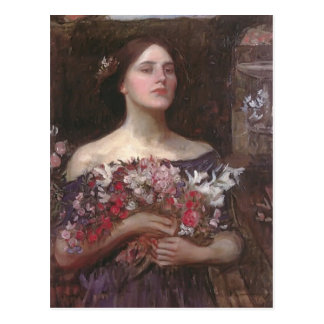 Capullos de rosa u Ofelia de YE del frunce del wat Tarjeta Postal