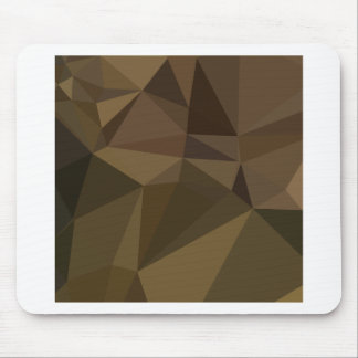 Caput Mortuum Brown Abstract Low Polygon Backgroun Mouse Pad