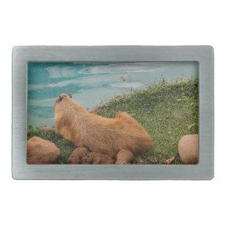 capybara-59 belt buckle
