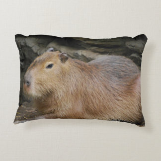 capybara-7 decorative pillow