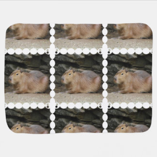 Capybara Baby Blanket
