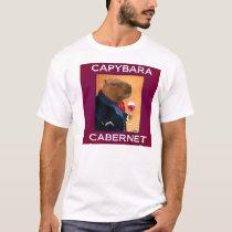 Capybara Cabernet T-Shirt