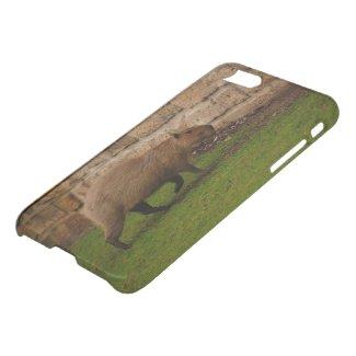 capybara Custom iPhone 7 Clearly™ Deflector Case