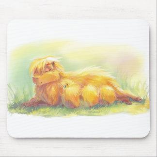 Capybara Family Mouse Pad