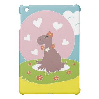 Capybara in Love Case For The iPad Mini
