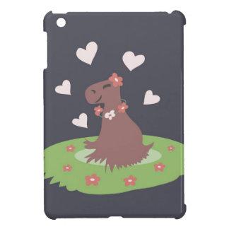 Capybara in Love iPad Mini Case