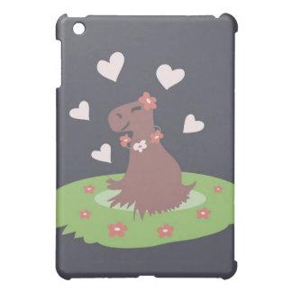 Capybara in Love iPad Mini Cases