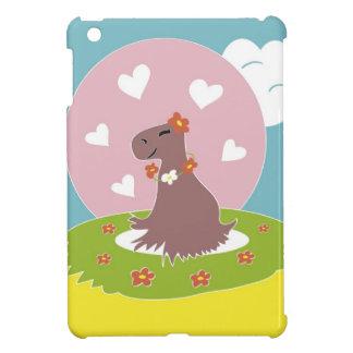 Capybara in Love iPad Mini Covers