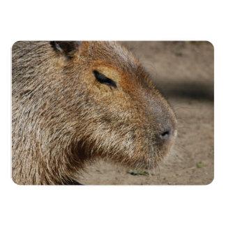 Capybara 5x7 Paper Invitation Card