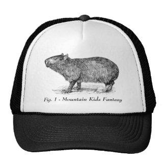 Capybara MKF hat. Trucker Hat