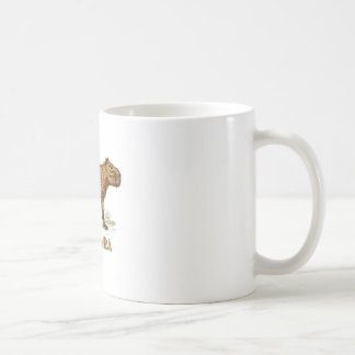 capybara classic white coffee mug