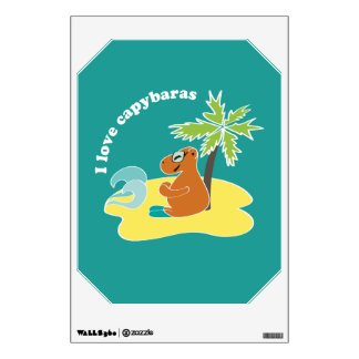 Capybara Room Graphics - Customized Wall Decal