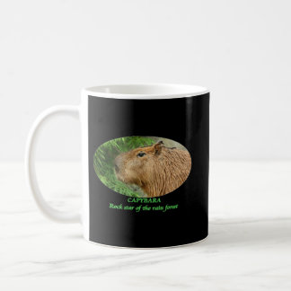 Capybara show some love for the sweetest rodent! coffee mug