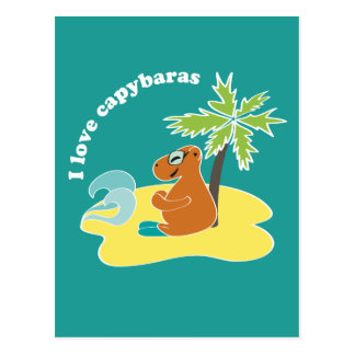 Capybara Tarjeta Postal