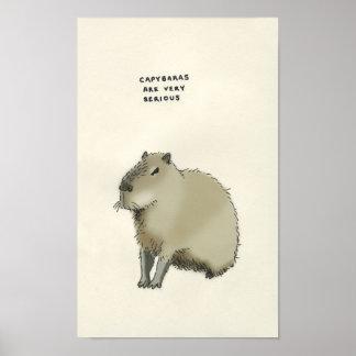capybara trivia posters