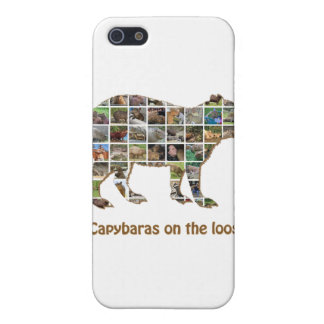 Capybaras on the loose iPhone 5 covers
