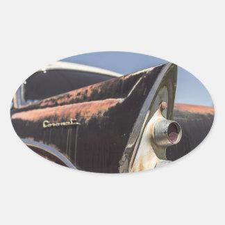 car24 oval sticker