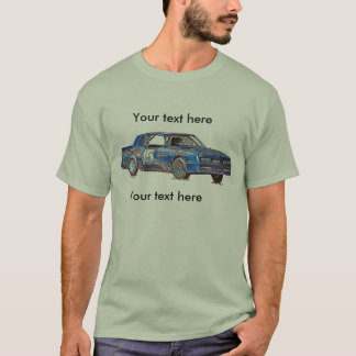 car 15 zazzle, front and back design T-Shirt