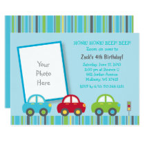 Car 1st Birthday Card