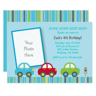 Car 1st Birthday Card