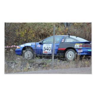 CAR 540 GREEN ACRES PHOTO PRINT