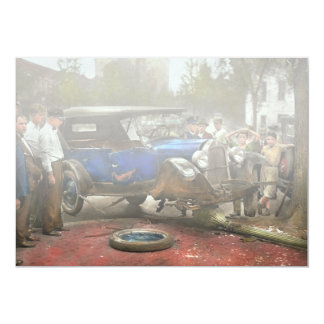 Car Accident - It came out of nowhere 1926 Card