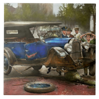 Car Accident - It came out of nowhere 1926 Ceramic Tile