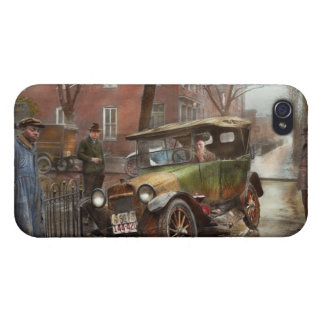 Car Accident - It came out of nowhere 1926 Cover For iPhone 4