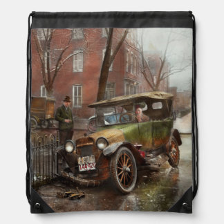 Car Accident - It came out of nowhere 1926 Drawstring Backpack