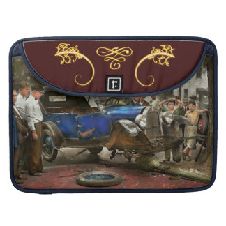 Car Accident - It came out of nowhere 1926 MacBook Pro Sleeve
