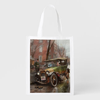 Car Accident - It came out of nowhere 1926 Reusable Grocery Bag