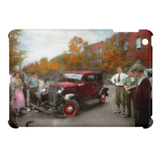 Car - Accident - Late for tee time 1932 Cover For The iPad Mini