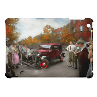Car - Accident - Late for tee time 1932 iPad Mini Cover