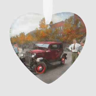 Car - Accident - Late for tee time 1932 Ornament