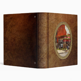 Car - Accident - Looking out for number one 1921 3 Ring Binder