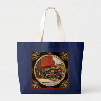 Car - Accident - Looking out for number one 1921 Large Tote Bag