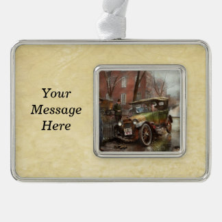 Car Accident - Watch for ice 1921 Christmas Ornament