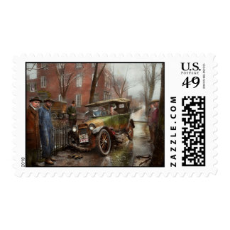 Car Accident - Watch for ice 1921 Postage Stamp