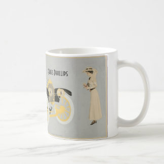 Car ad illustrated by Coles Phillips Coffee Mug